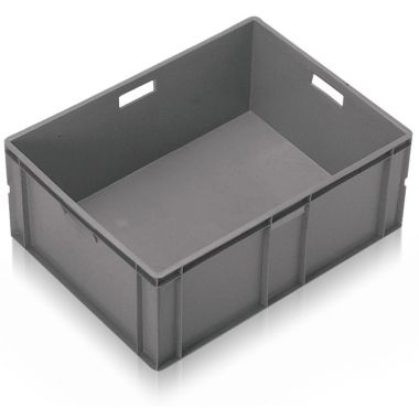 Euro Stacking Plastic Containers 800x600x319mm - 21135