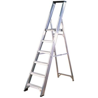 Aluminium Industrial Platform Ladder