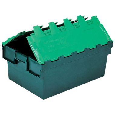 Attached Lid Container - (710 x 460 x 368mm)