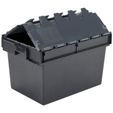 Eco Attached Lid Container - (600 x 400 x 365mm)
