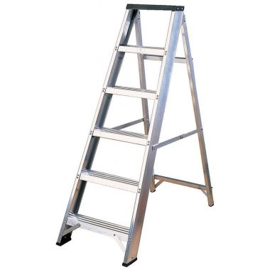 Aluminium Industrial Swing Back Ladder