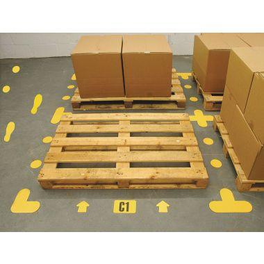 """""""+"""" Floor Markers"""