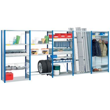 Modular Shelving Additions - Solid Back Cladding (1300mm wide)