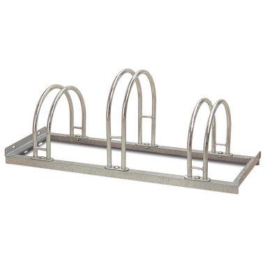 High / Low Hoop Bike Rack
