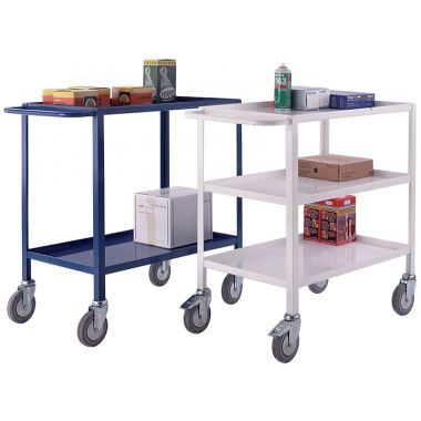 Metal Tray Trolley - Two Tier