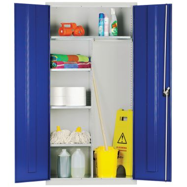 Steel Locker - Janitorial Cupboard - CB1U