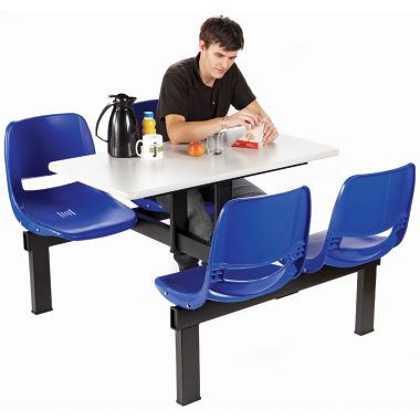 Canteen Table - Four Chairs (Double Access)