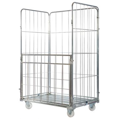 Demountable Roll Container – Large Three Sided