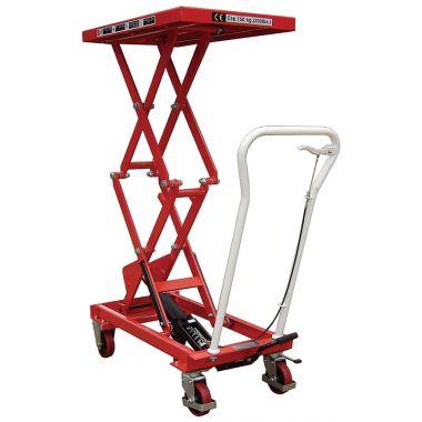 Manual Double Scissor Lift Table - 300kg