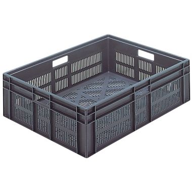 Euro Stacking Plastic Containers 800x600x235mm - 21091