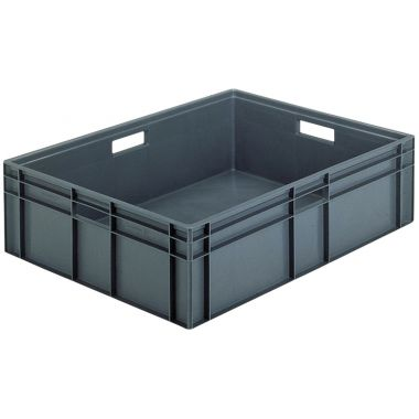 Euro Stacking Plastic Containers 800x600x235mm - 21090