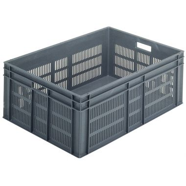 Euro Stacking Plastic Containers 800x600x319mm - 21136