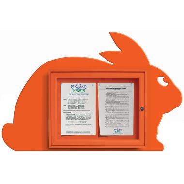 Wall Mounted Fun Notice Board - Rabbit