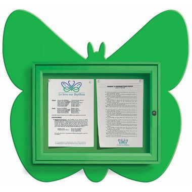 Wall Mounted Fun Notice Board - Butterfly