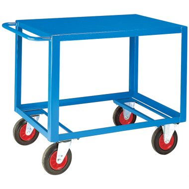 Heavy Duty Table Trolley - Steel Top (Large)
