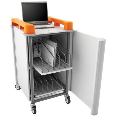 Laptop Storage Trolley - 10x Vertical