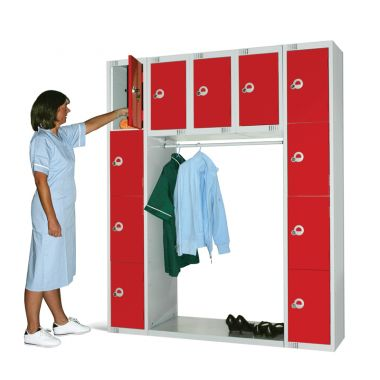 Archway Locker Unit - 11 Compartments - LK/ARCH1