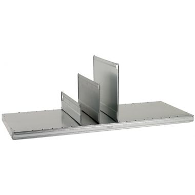 Modular Shelving Additions - Solid Sheet Shelf Dividers
