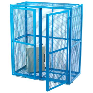 Double Door Mesh Security Cage - Medium