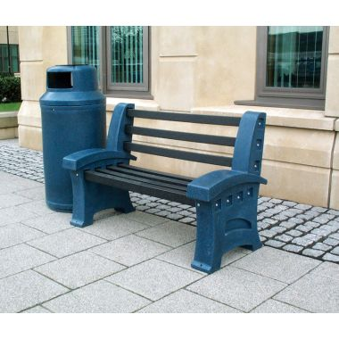 Outdoor Plastic Seat - Two Person