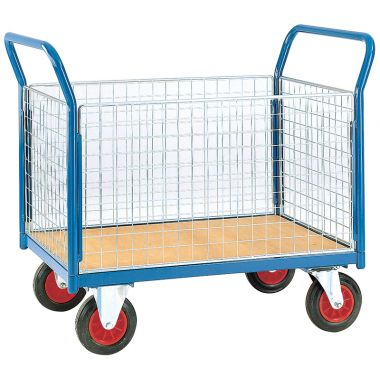 Platform Trolley - Four Sided - Deck 1200 x 800 mm - TC804M