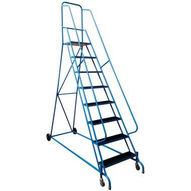 Spring Loaded Step Unit - Steel Mesh Tread