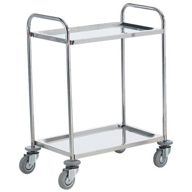 Stainless Steel Trolley - Two Tier