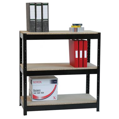 Boltless Shelving Unit - Heavy Duty Three Tier
