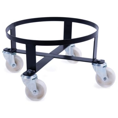 Circular Steel Dolly for Plastic Tapered Bins