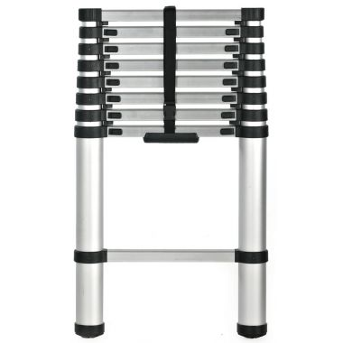 Telescopic Step Ladder - Thirteen Rung