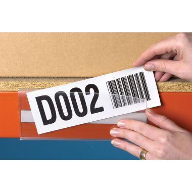 Pack of Long Self Adhesive Ticket Holders