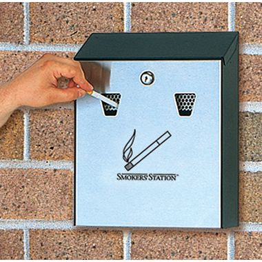 Cigarette Bin - Wall Mounted