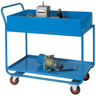 Workshop Trolley - Two Tier (200mm Top Shelf)