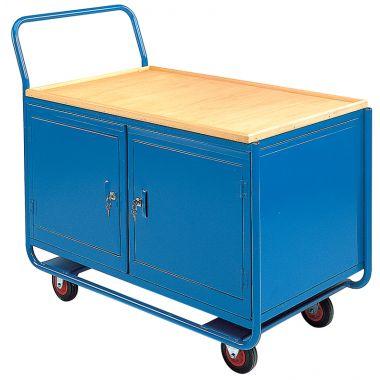 Workshop Trolley - Two Cupboards