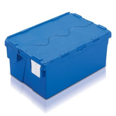 Attached Lid Container - (600 x 400 x 264mm)
