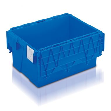 Attached Lid Container - (600 x 400 x 306mm)
