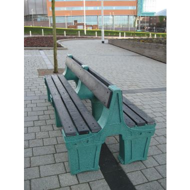 Outdoor Plastic Seat - Eight Person (Double Sided)