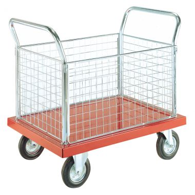Platform Trolley - Four Sided - Deck 1200 x 800 mm - EP804M