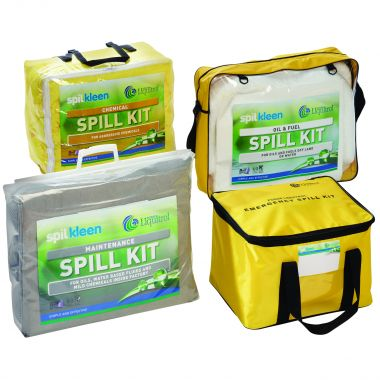 Portable Spill Kit - 15 Litre Oil & Fuel
