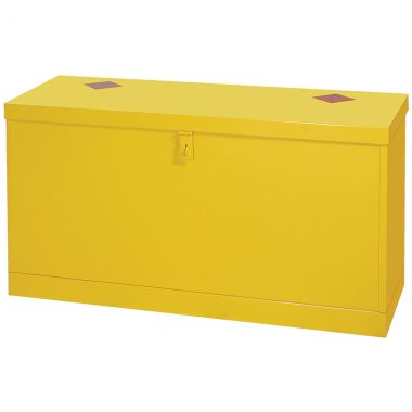 Dangerous Substance Flat Top Floor Chest - 35 Litre Sump - HSB1