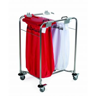 Laundry Trolley - Two Bags