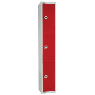 Steel Storage Locker - 3 Door
