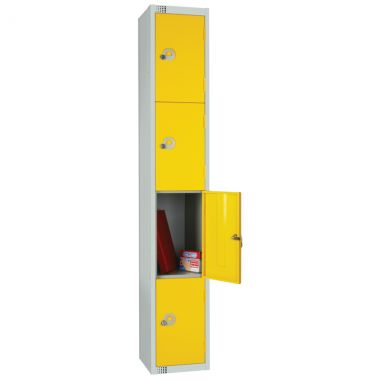 Steel Storage Locker - 4 Door