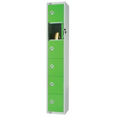 Steel Storage Locker - 6 Door