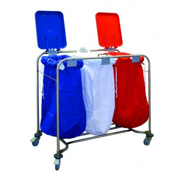 Laundry Trolley - Three Bags