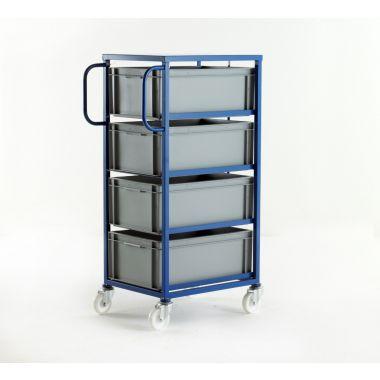 Mobile Tray Rack – 4 Deep Trays