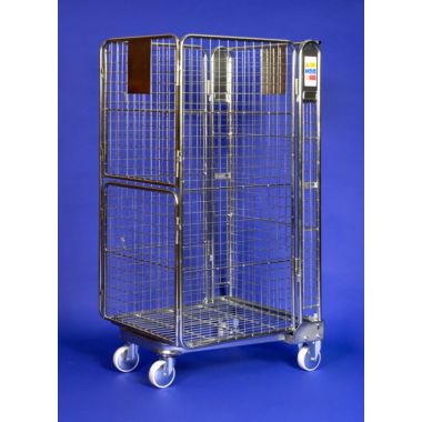 Nestable Roll Container – Split Door