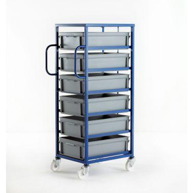 Mobile Tray Racks – 6 Medium Trays