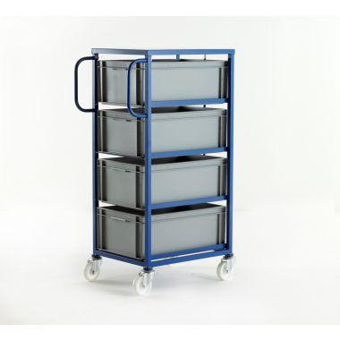 Mobile Tray Racks – 4 Deep Trays