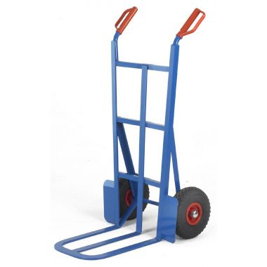 Large Splay Back Sack Truck - Pneumatic Tyres - ST27P